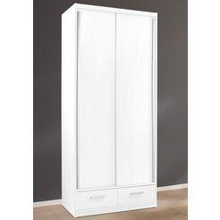 schuifdeurkast, 2- tot 4-deurs, made in germany wit