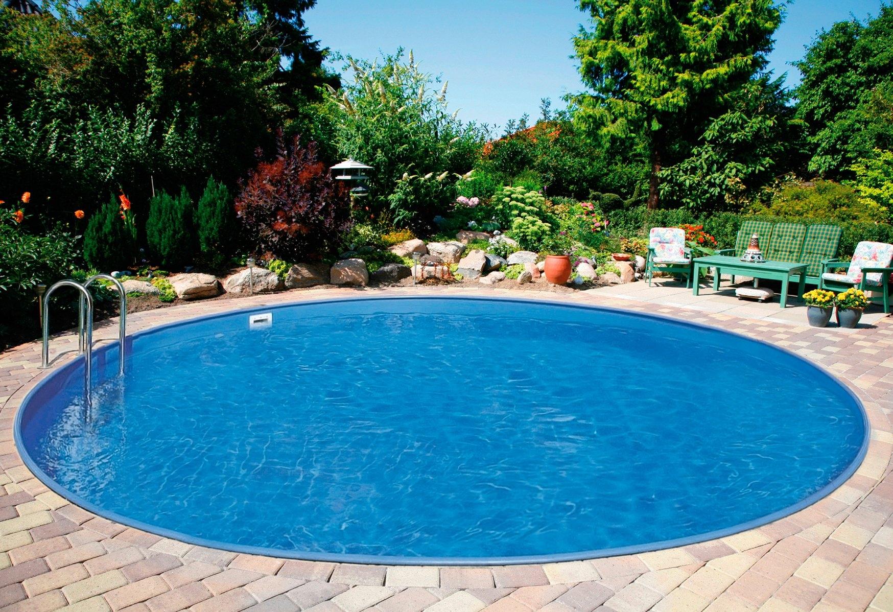 Clear pool voordeelset: rond zwembad »premium ibiza« in de online