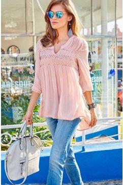 Lange blouse zonder sluiting
