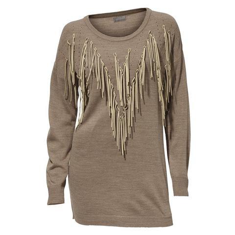 Longline-pullover