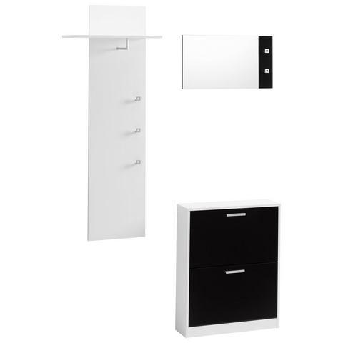 Complete garderobes Halmeubelen Torino in 3-delige set 688072