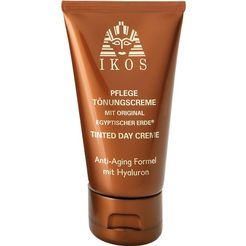 ikos getinte gezichtscrème anti-aging-verzorging bruin
