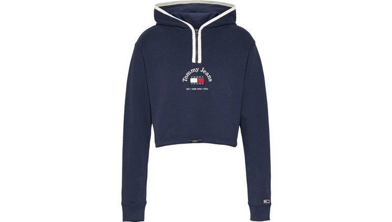 TOMMY JEANS sweatshirt TJW Crop Timeless Tommy 1 Hoodie