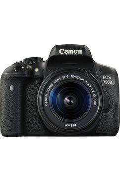 EOS 750D Kit Spiegelreflexcamera,EF-S 18-55mm, 24,2 Megapixel