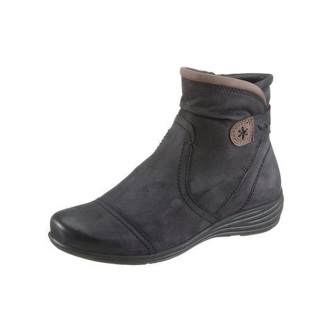 Schoen: JANA Boots van nubuckleer