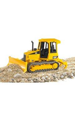 bruder shovel op rupsbanden cat geel