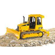 bruder speelgoed-bouwauto cat bulldozer made in germany geel