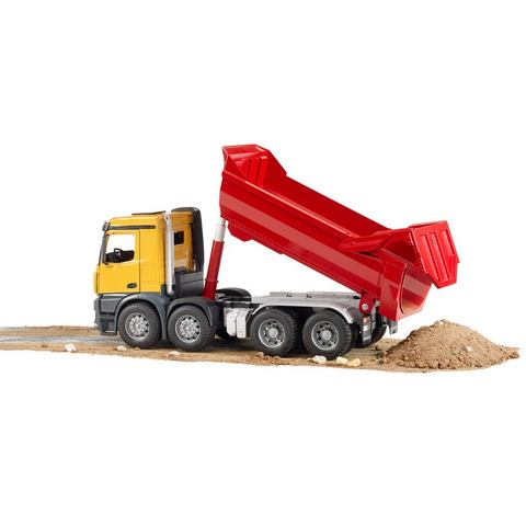 Mb Arocs Halfpipe dump truck Bruder -