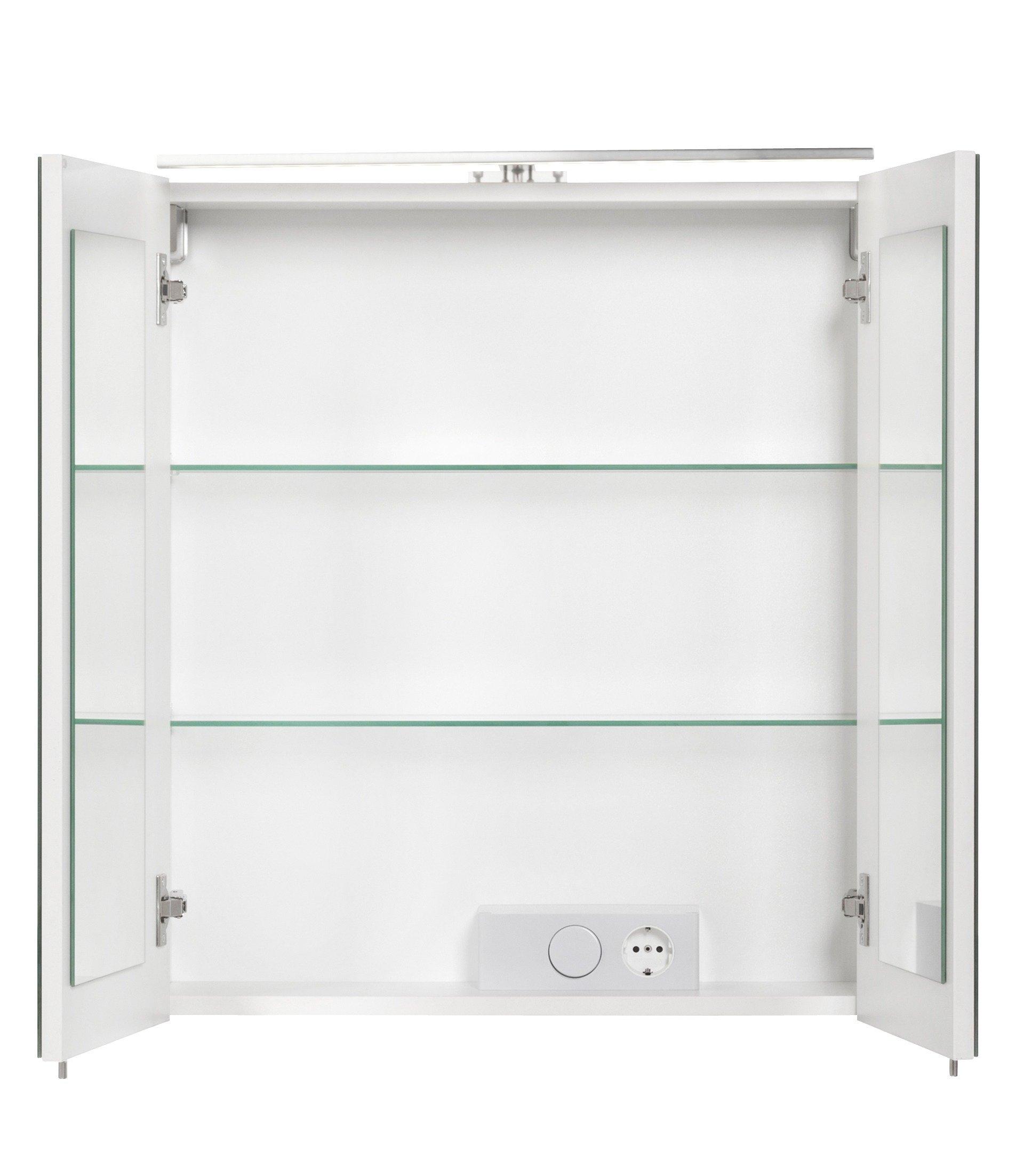 Fackelmann spiegelkast lugano breedte 60 cm bestel nu for Spiegelkast 60 cm breed