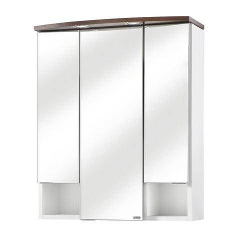 kast Neapel witte badkamer spiegelkast 50