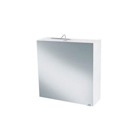 kast Malmö C zilverkleurige badkamer spiegelkast 36