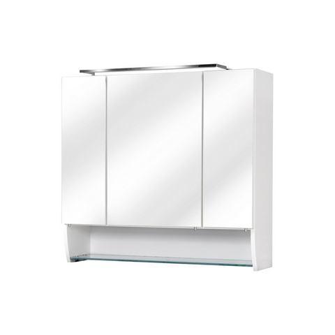 kast Sceno witte badkamer spiegelkast 57