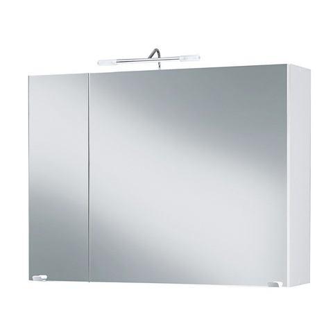 kast Malmö C grijze badkamer spiegelkast 26