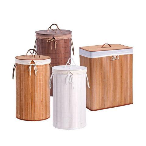 Badkameraccessoires Wasmand Bamboo 244418