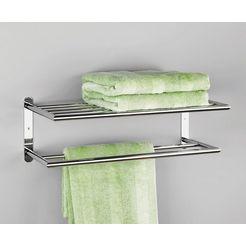zeller handdoekhouder »chroom« zilver