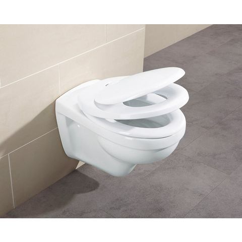 Badkameraccessoires Toiletzitting Family 257725 wit