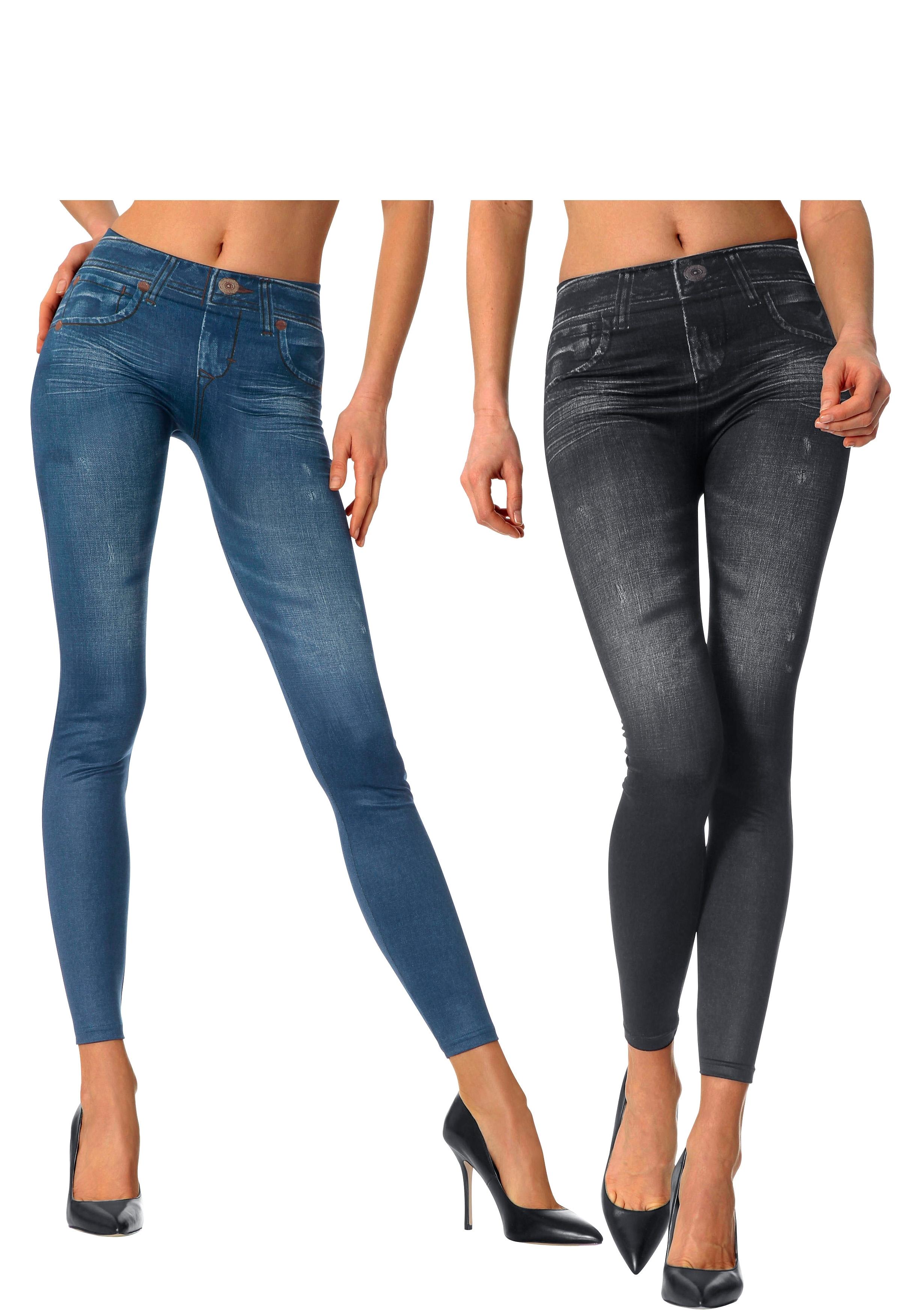 Slim-legging, set van 2 veilig op otto.nl kopen