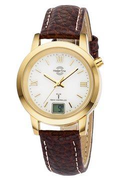 master time radiografisch horloge »mtla-10299-13l« bruin
