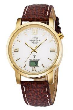 master time radiografisch horloge »mtga-10298-13l« bruin