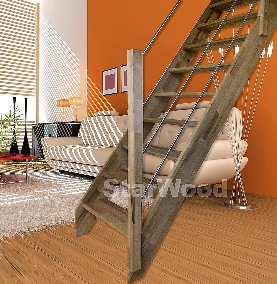 starwood ruimtebesparende trap rhodos open treden