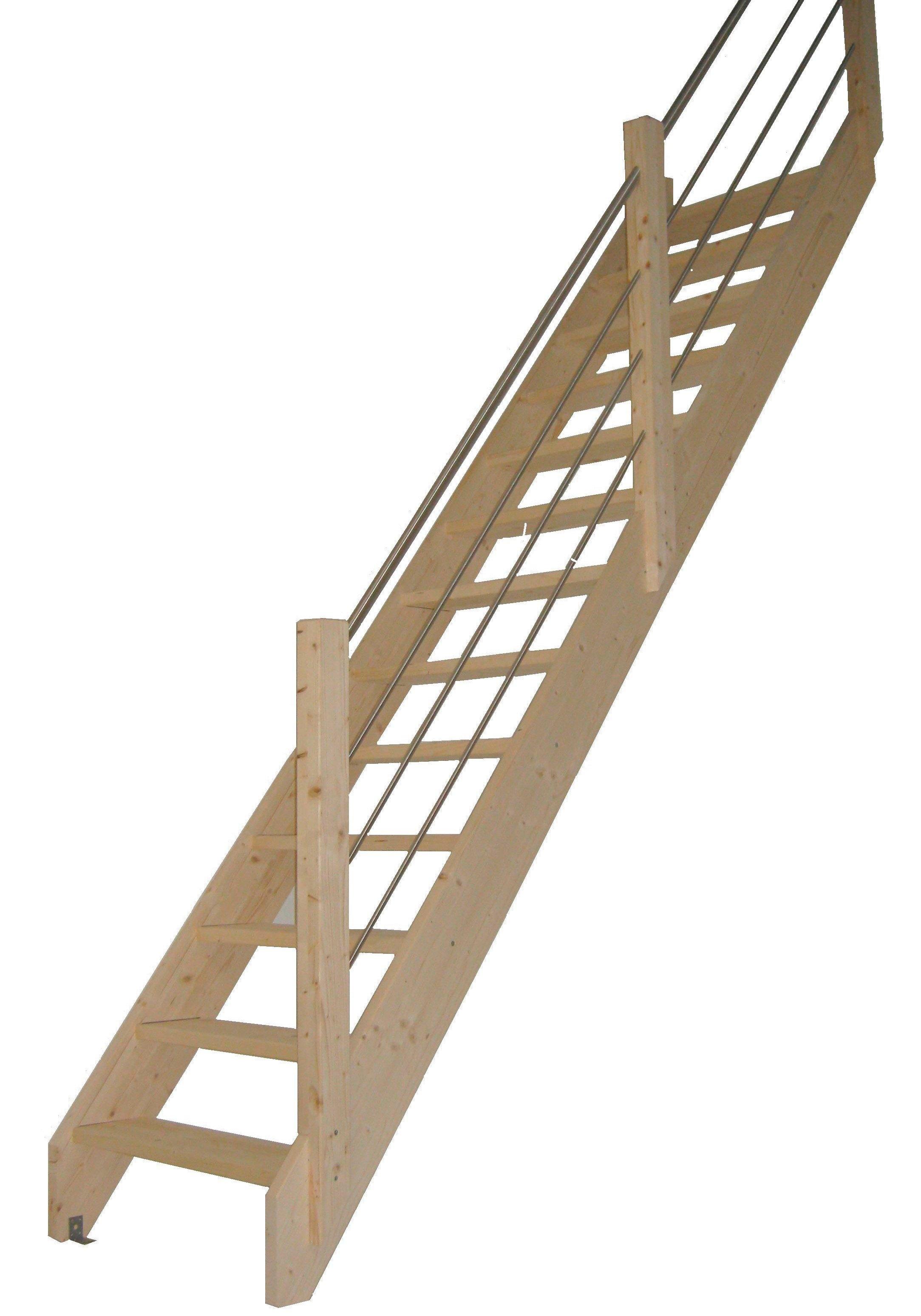 starwood ruimtebesparende trap corfu open treden recht