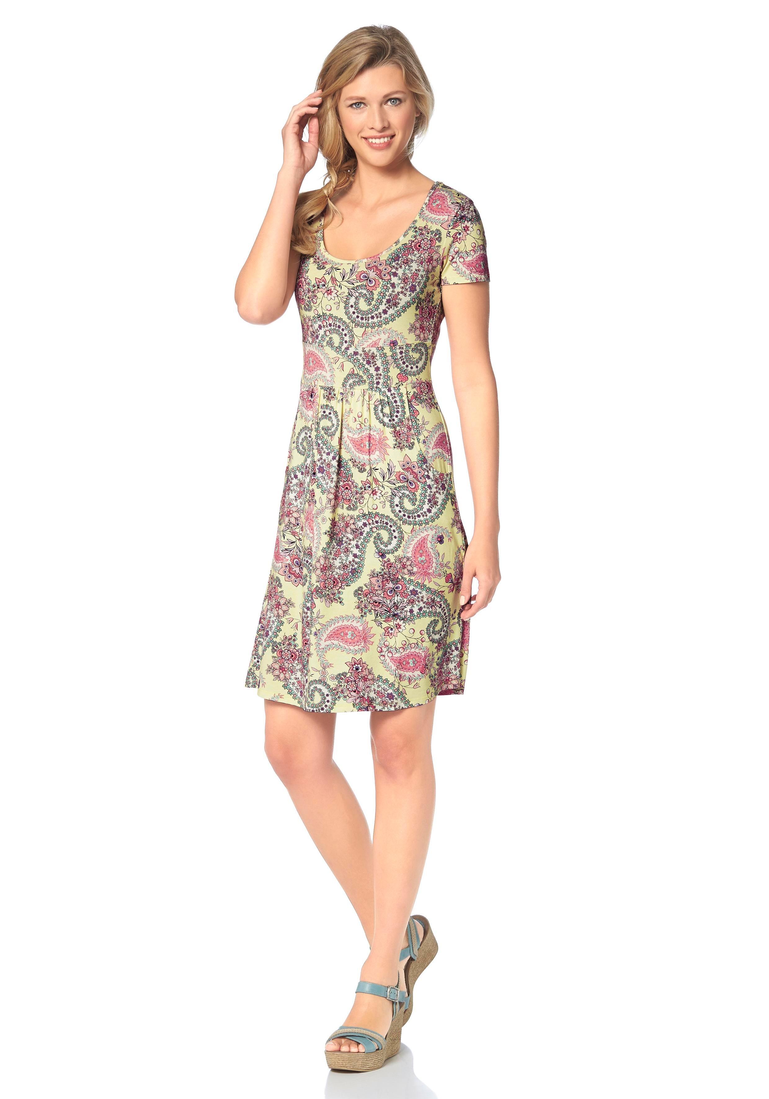 48e16401fed782 Afbeeldingsbron  CHEER Jersey-jurk met zakken opzij