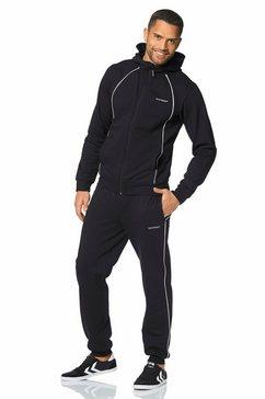 eastwind joggingpak met contrasteffecten zwart