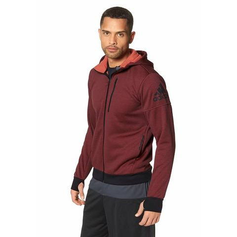 ADIDAS PERFORMANCE Trainingsjack met capuchon