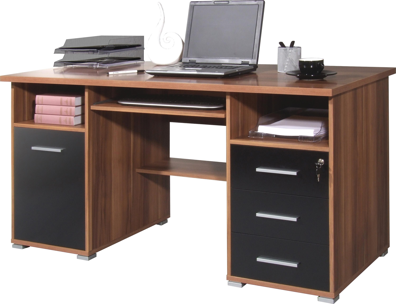 GERMANIA Pc-bureau 0484 met uittrekplank voor het toetsenbord en afsluitbare lade bestellen: 30 dagen bedenktijd