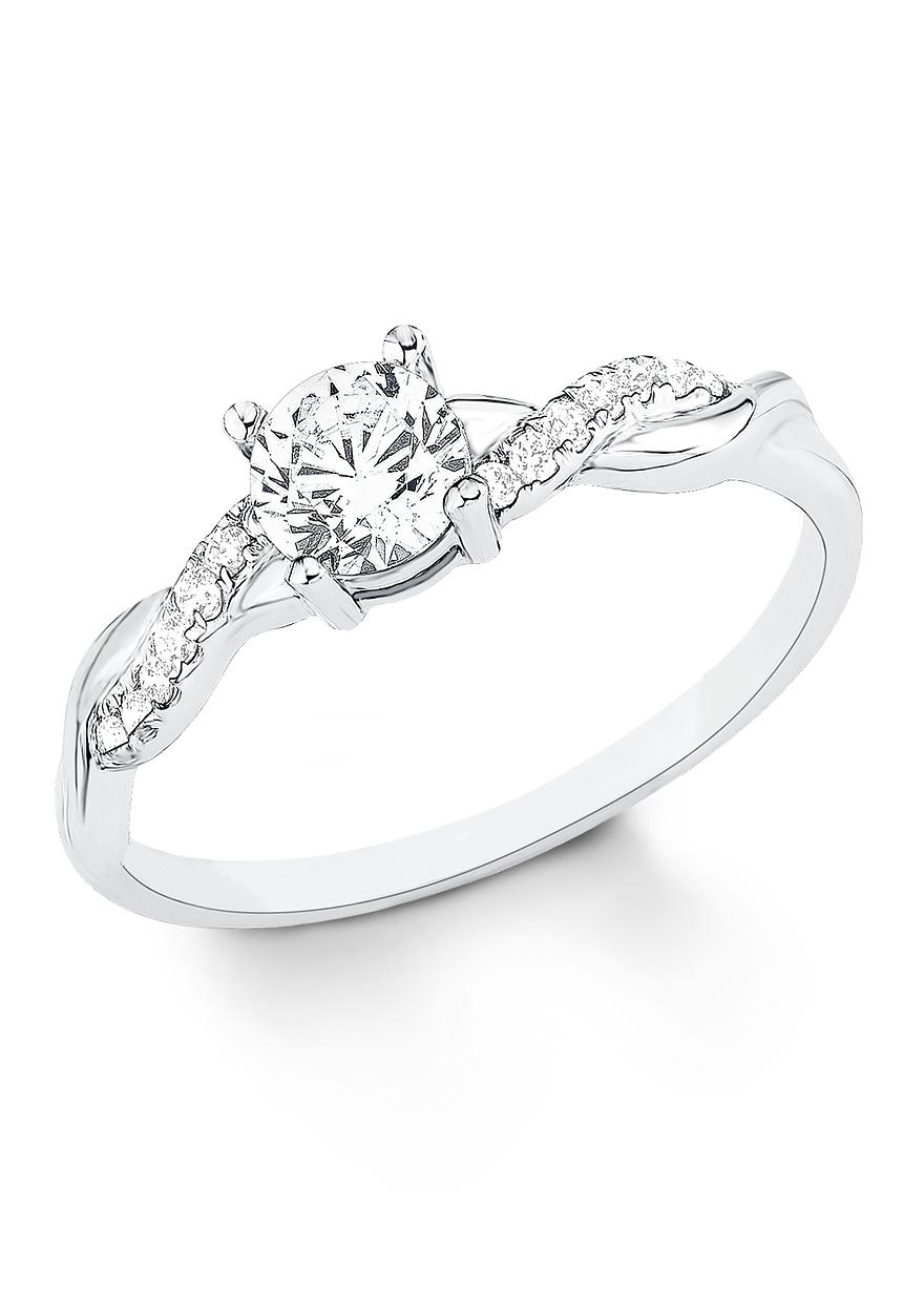 s.Oliver RED LABEL s.Oliver zilveren ring »9079322« - gratis ruilen op otto.nl