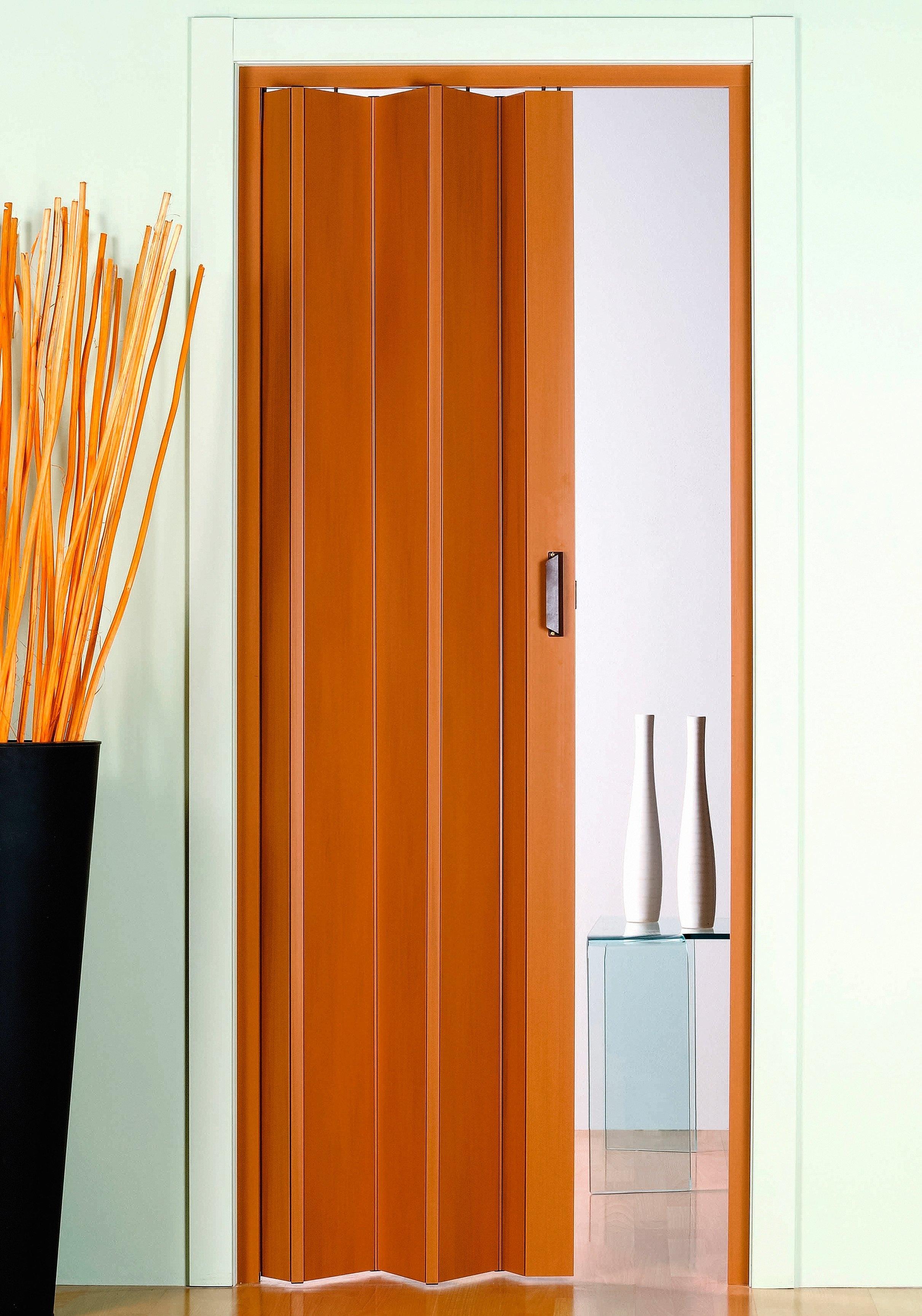 Kunststof vouwdeur »Monica«, Bxh: 83x204 cm, beukenkleur-pastel zonder raam bij OTTO online kopen