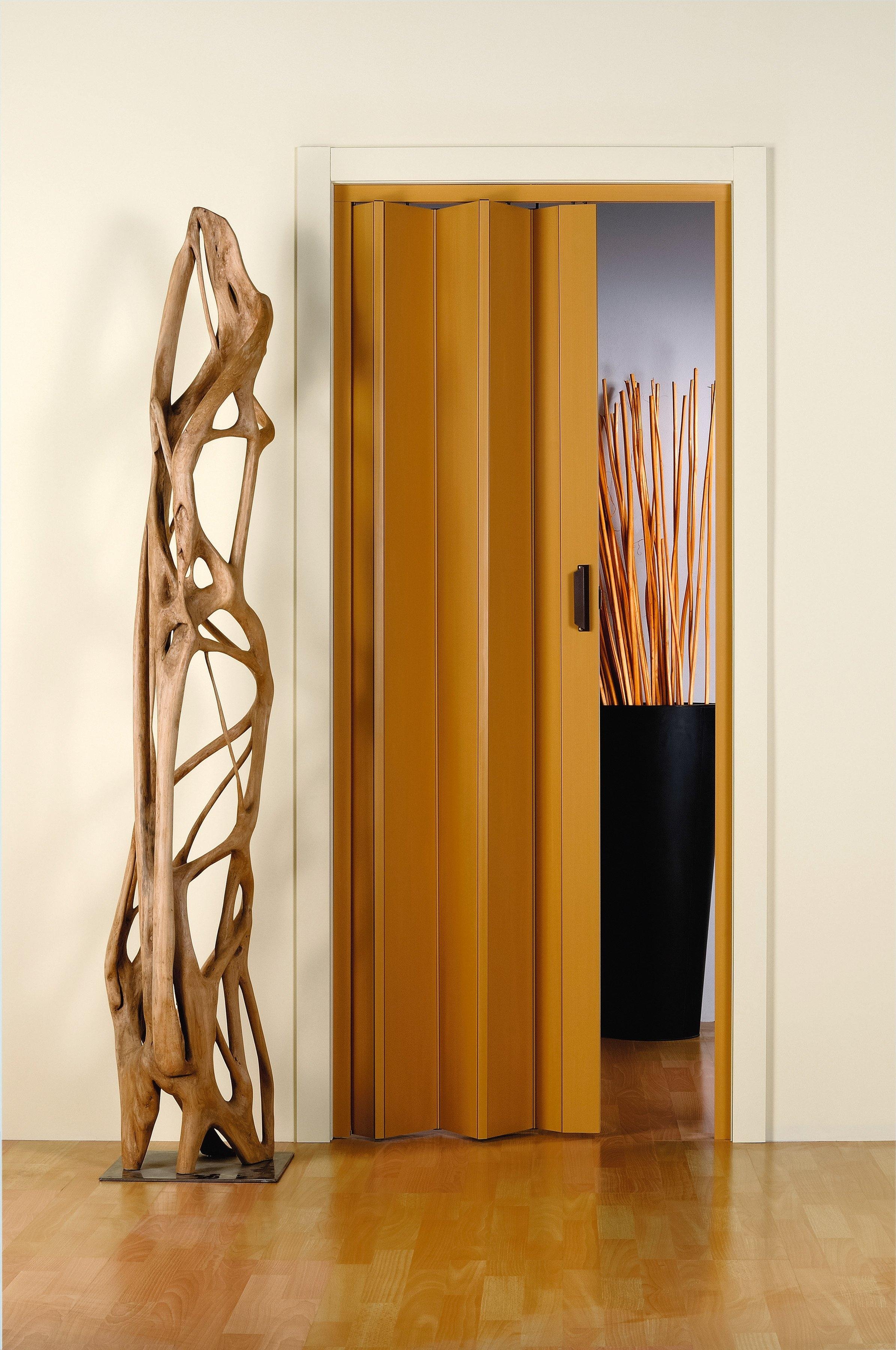 Kunststof vouwdeur »Monica«, Bxh: 83x204 cm, eikenkleur-pastel zonder raam - gratis ruilen op otto.nl