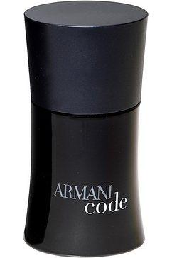 eau de toilette, armani, code homme zwart