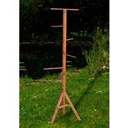 silvio design vogelboom bxdxh: 50x50x120 cm bruin