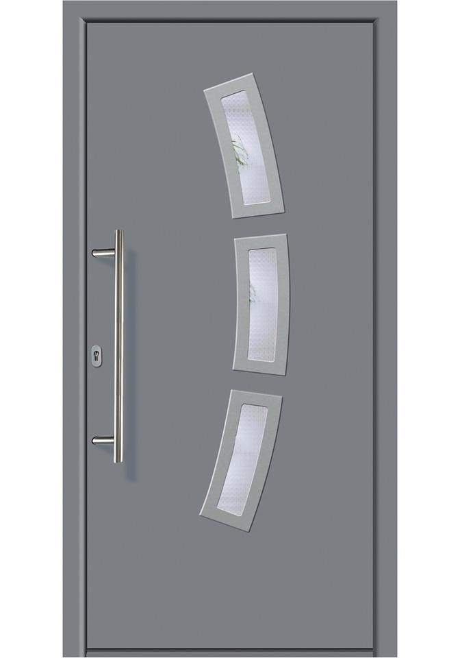 Km Zaun KM MEETH ZAUN GMBH Aluminiumvoordeur »A07«, Bxh: 98x198 cm, grijs, in 2 varianten veilig op otto.nl kopen