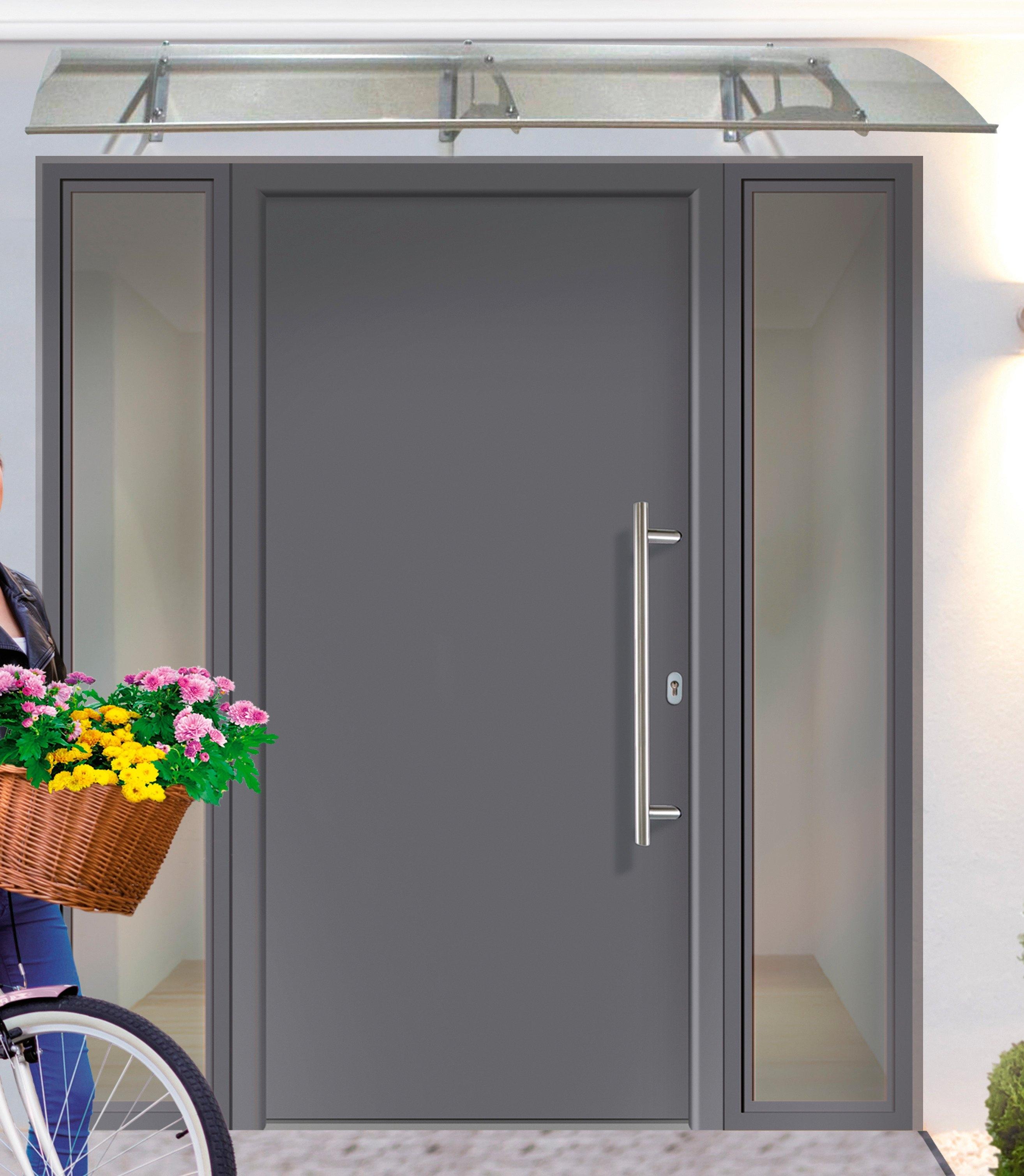 Op zoek naar een Km Zaun KM MEETH ZAUN GMBH Aluminiumvoordeur »A01«, Bxh: 98x208 cm, antraciet, in 2 varianten? Koop online bij OTTO