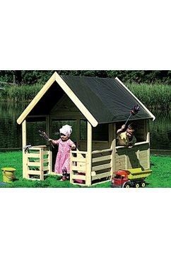 promadino speelhuis »moritz«, bxtxh: 146x195x167 cm mit veranda beige
