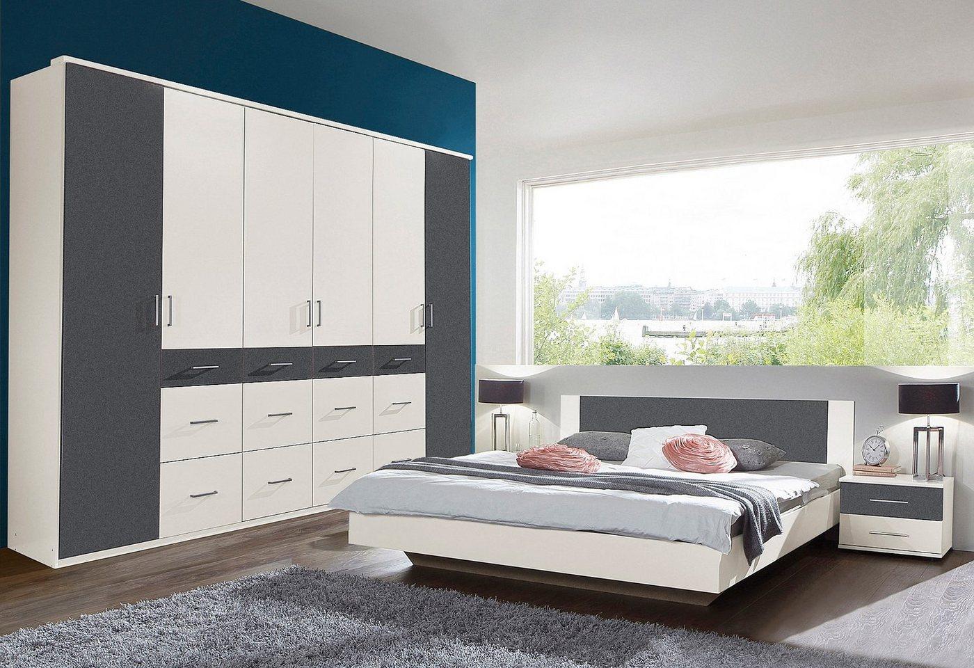 Slaapkamer-meubelset 4-delig