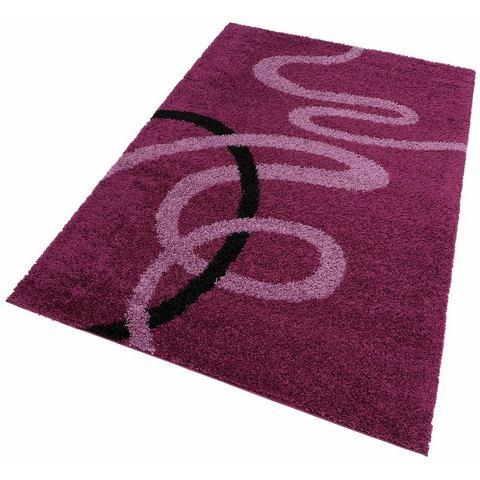 MY HOME Hoogpolig karpet Posadas rondom omboord