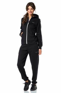 eastwind joggingpak met contrastdetails zwart