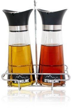 ® Azijn- en oliefles in 2-delige set