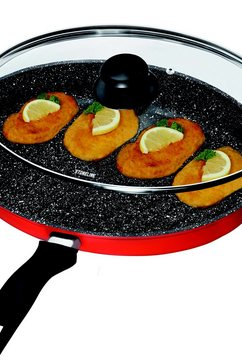 ® XXL schnitzel-/vispan robijnrood