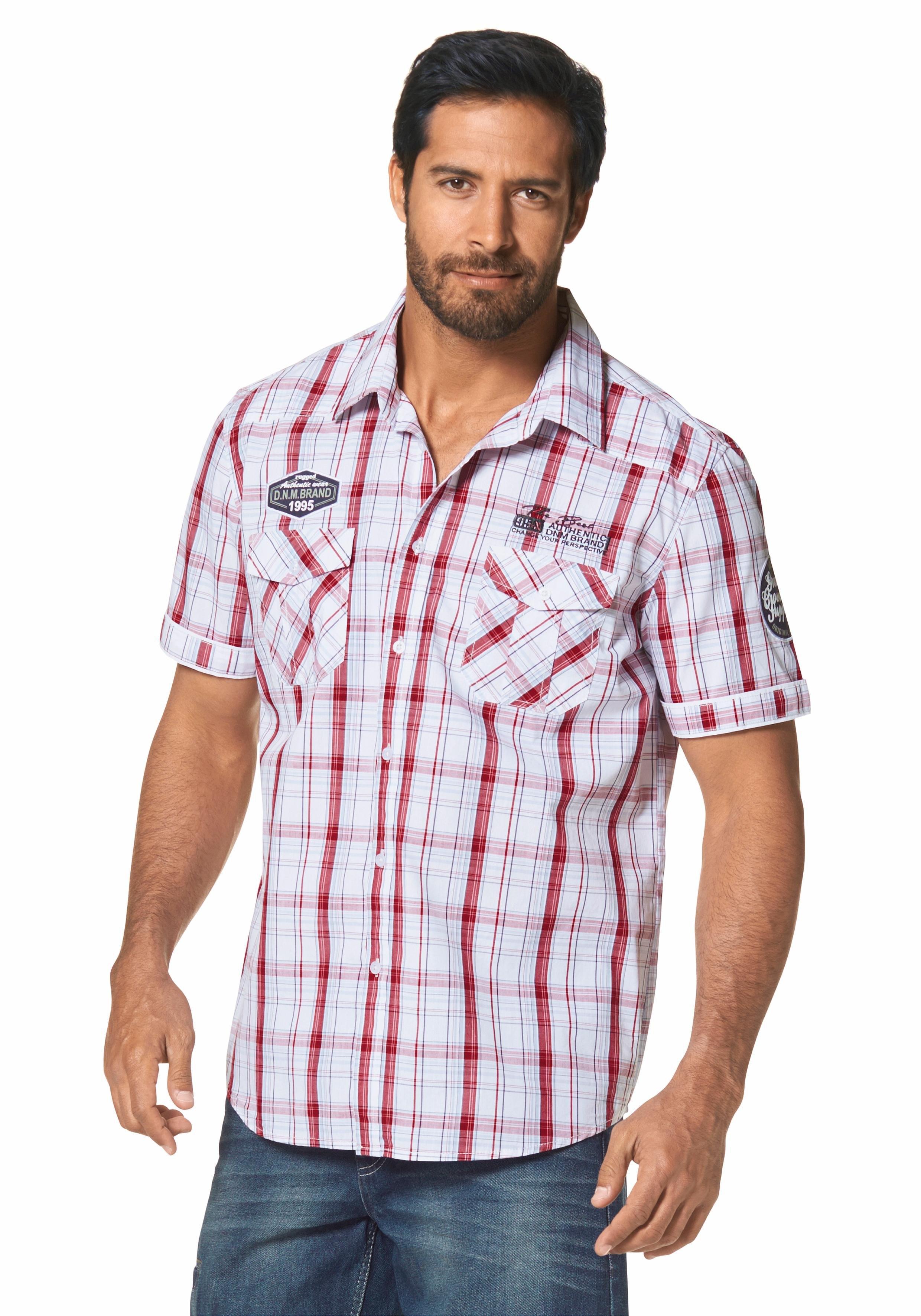 Man's World Overhemd met korte mouwen goedkoop op otto.nl kopen