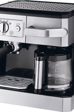 De'Longhi Espresso-apparaat BCO 420.1, met melkopschuimer, zilverkleur/zwart