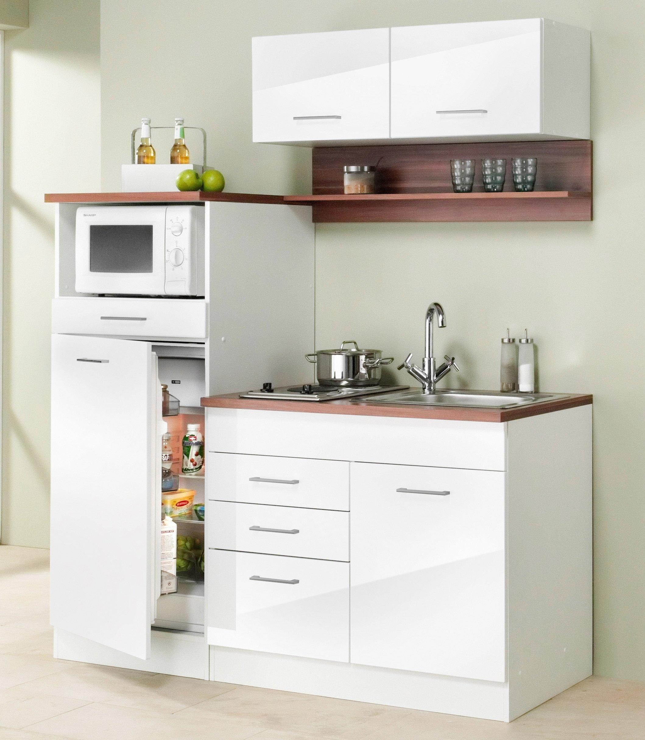 Held m bel mini keuken monaco breedte 160 cm makkelijk besteld otto - Mini keuken voor studio ...