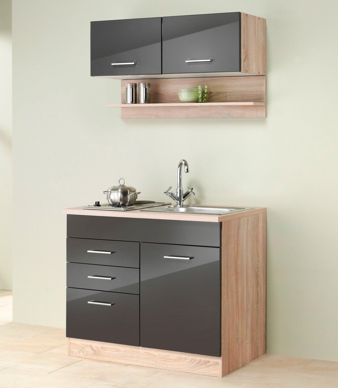 held m bel mini keuken breedte 100 cm in de online shop otto. Black Bedroom Furniture Sets. Home Design Ideas