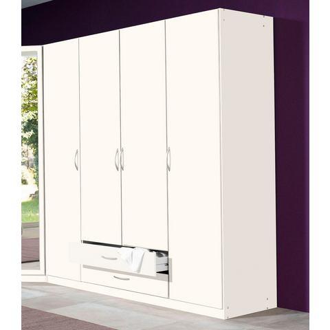Kledingkasten Garderobekast in 2 kleuren en 3 breedten 444366