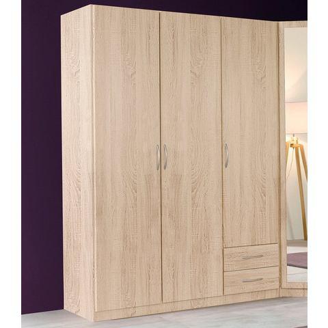 Kledingkasten Garderobekast in 2 kleuren en 3 breedten 357186