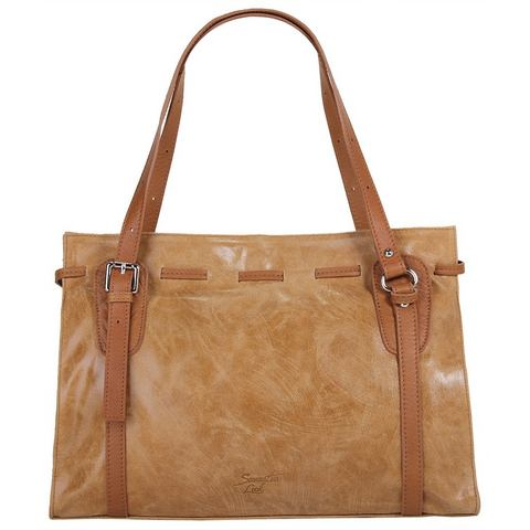 Samantha Look leren dames shopper