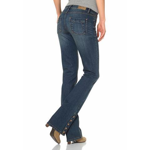 AJC Bootcut-jeans met iets uitlopende pijpen